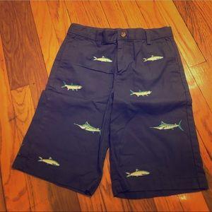 Vineyard Vines Boys Embroidered Breaker Shorts